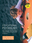 Cover of Educational Psychology for Learning and Teaching