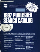 Published Search Catalog