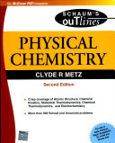 Physical Chemistry 2E  Sie