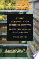 Ethnic Solidarity for Economic Survival Pdf/ePub eBook