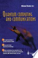 Quantum Computing and Communications Book