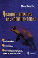Pdf Quantum Computing and Communications Telecharger