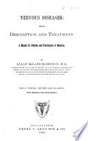 Nervous Diseases  Their Description and Treatment Book