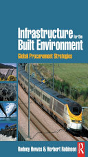 Infrastructure for the Built Environment  Global Procurement Strategies