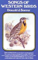 Songs of Western Birds
