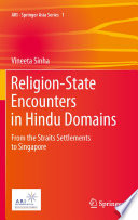 Religion State Encounters In Hindu Domains