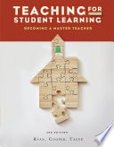 """Teaching for Student Learning: Becoming a Master Teacher"" by Kevin Ryan, James M. Cooper, Susan Tauer"