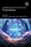 Pdf Handbook of Research on Franchising Telecharger