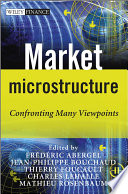 Market Microstructure Book