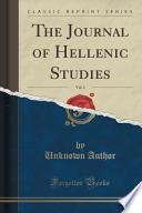 The Journal of Hellenic Studies, Vol. 2 (Classic Reprint)