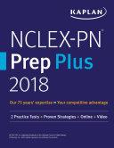 Pdf NCLEX-PN Prep Plus 2018