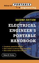 Electrical Engineer's Portable Handbook [Pdf/ePub] eBook