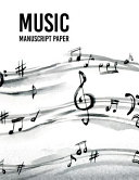 Wide Staff Music Manuscript Paper