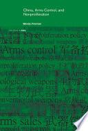 China  Arms Control  and Non Proliferation