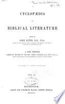 A Cyclopaedia of Biblical Literature Book PDF