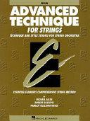 Advanced Technique for Strings