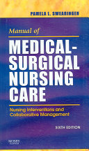 Manual of Medical surgical Nursing Care Book