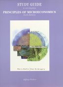 Study Guide to Accompany Principles of Microeconomics