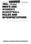 NCAA Men s and Women s Basketball Rules and Interpretations