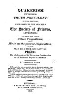Quakerism Unveiled
