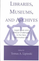 Libraries  Museums  and Archives