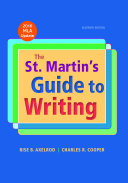 The St  Martin s Guide to Writing with 2016 MLA Update Book
