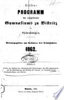 Ueber den Einfluß der reformatorischen Bestrebungen des XVI. Jahrh. auf die Entwickelung u. Bildung der Schulen