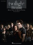 Twilight - The Score (Songbook) Pdf/ePub eBook