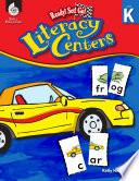 Ready  Set  Go  Literacy Centers  Level K Book