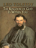 The Kingdom of God Is Within You [Pdf/ePub] eBook