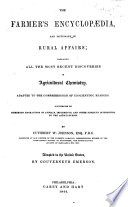The Farmer's Encyclopædia, and Dictionary of Rural Affairs