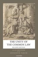 The Unity of the Common Law Pdf/ePub eBook