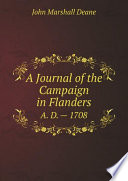 A Journal of the Campaign in Flanders