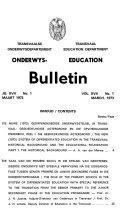 Education Bulletin