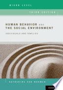 Human Behavior and the Social Environment  Micro Level Book