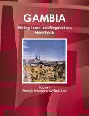 Gambia Mining Laws and Regulations Handbook