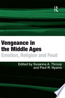 Vengeance In The Middle Ages Book