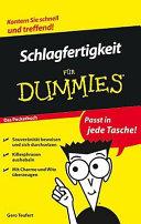 Schlagfertigkeit für Dummies Das Pocketbuch