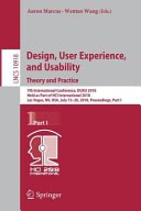 Design  User Experience  and Usability  Theory and Practice
