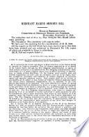 Merchant Marine Omnibus Bill