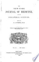 New York Journal of Medicine and the Collateral Sciences Book