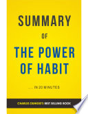 The Power Of Habit By Charles Duhigg Summary Analysis PDF