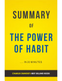 The Power of Habit: by Charles Duhigg | Summary & Analysis [Pdf/ePub] eBook