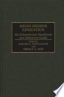 Asian Higher Education