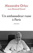 Pdf Un ambassadeur russe à Paris Telecharger