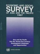 Economic and Social Survey of Asia and the Pacific 1997