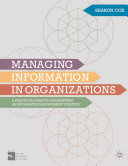 Cover of Managing Information in Organizations