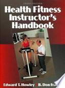 Health Fitness Instructor's Handbook