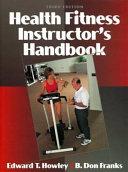 Health Fitness Instructor s Handbook