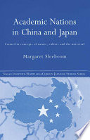 Academic Nations in China and Japan